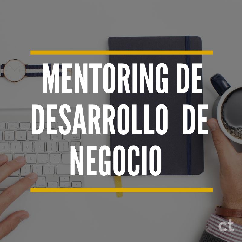 MENTORING DE DESARROLLO DE NEGOCIO